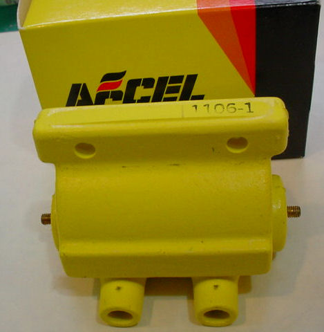 ACCEL 140402 Power Pulse Yellow Coil